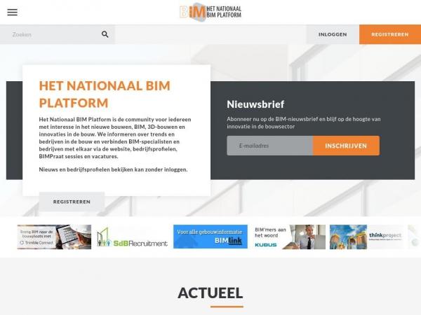 hetnationaalbimplatform.nl